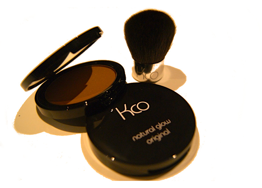 Two Kco Compacts & Brush