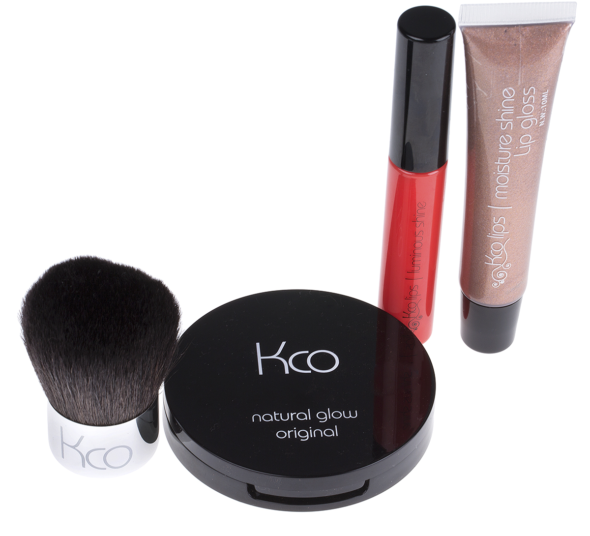 Kco Compact, Lip Shine, Lipgloss & Brush
